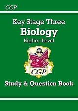 KS3 Biology Study & Question Book (with Online Edition) - Higher by CGP Books (Paperback, 2014)