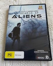 IN SEARCH OF ALIENS – SEASON 1, DVD, 3-DISC SET R-4, LIKE NEW, FREE POST