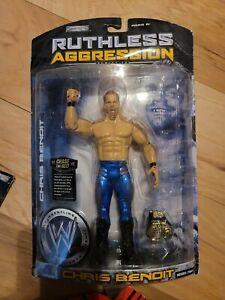 CHRIS BENOIT Jakks Pacific Ruthless Aggression Series 26 2007 WWE Figure