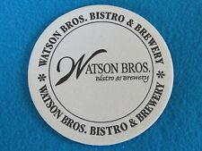 Beer Coaster ~ Watson Brothers Brewhouse (Queen City) ~ Blue Ash, OHIO ** CLOSED