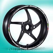 SET adesivi cerchi ruote BUELL stickers wheels - NEW MODEL EXCLUSIVE -