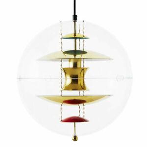 Plexiglass Globe Lighting Ball Pendant Lamp Chandelier Ceiling Light Fixture