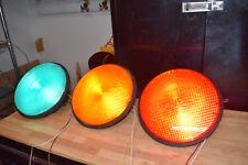 "12"" led traffic signal light modules - set of three"