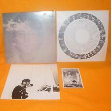 """APPLE RECORDS JOHN LENNON - IMAGINE STEREO 12"""" LP ALBUM VINYL + POSTER POSTCARD"""