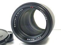 [Optical Mint] Contax Carl Zeiss Sonnar T* 135mm F/2.8 AEJ Lens CY Mount JAPAN