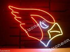 New Arizona Cardinals FOOTBALL Handcrafted Real Glass Neon Light Sign FREE SHIP