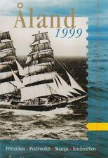 Aland Island Finland Official Åland Complete Mint MNH Year Set 1999