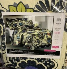 "Virah Bella® Collection - Debra Valencia™ ""Nadira� 2 Piece Quilt Set Twin"