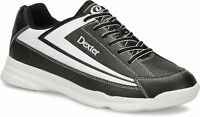 Dexter Mens Jack II Black/White Bowling Shoes