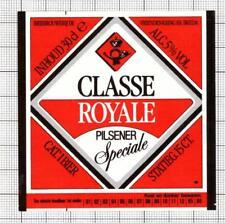 HOLLAND de Vriendenkring BV,Breda CLASSE ROYALE 30cl 85-86 beer label C1846 046