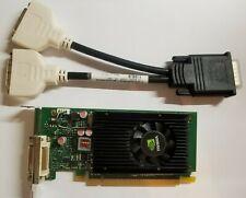 NVIDIA NVS 315 1GB Dual Monitor Low Full HDMI DVI VGA Video Card Windows 10