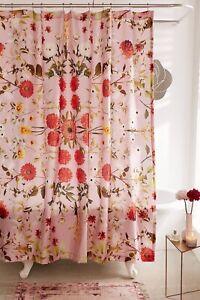 Urban Outfitters Daniella Floral Shower Curtian