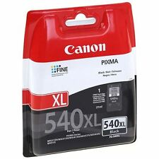 Genuine Original Canon PG-540XL Black Ink Cartridge - For Canon Pixma MX455