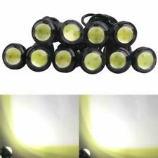 10pcs 18mm LED White Eagle Eye Car Light High Power 9W DRL Fog Light Motorcycle