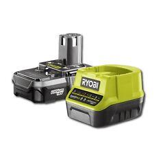 Ryobi One+ 18V Li-ion Battery And fast Charger Starter Kit (original)