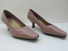 Liz Claiborne Pink Leather Classic High Heels Pumps 6M 6 NEW MSRP $79