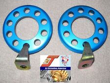 Side Bearing Ring Adjuster Kit, Ford English Axle, 3J Driveline Anodized Alloy