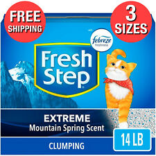 Extreme Scented Litter with the Power of Febreze Clumping Cat Litter OdorControl
