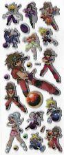 BAKUGAN Stickers battle Shun Marucho Alice Julie Dan Zach Runo Anime Manga 3D