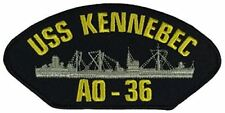 USS KENNEBEC AO-36 PATCH USN NAVY SHIP CORSICANA T2 TANKER