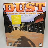 Dust a Tale of the Wired West Vintage Big Box PC Sealed Windows 95/98 READ (#1)
