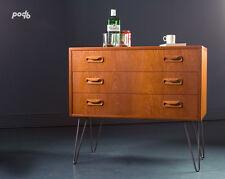 Vintage  G Plan Mid Century Retro Small Teak Sideboard Chest of Drawers Danish