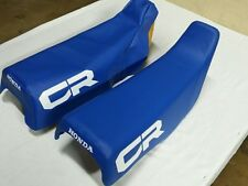 HONDA  CR250R 1984 MODEL Seat Cover  BLUE (H231--n6)