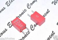 2pcs - WIMA MKS2 3.3uF (3,3µF) 50V 5% pitch:5mm Capacitor