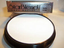 Mehron White Star Blend Cake Pancake Water Base Stage Makeup Professional