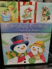 Christmas Critters Jane Maday Tole Decorative Painting Book Precious Animals