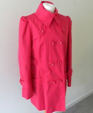 Womens coat M&S Pink 16 - Marks & Spencer - 100% Cotton Knee Length Immaculate