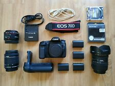 THE CANON EOS 70D PACK  70D +Sigma 10-20mm f/3.5 EX DC HSM + ...