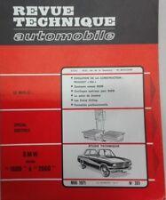 BMW E10 SERIES 1600 à 2000 Revue technique RTA 301 1971 + 504 PEUGEOT