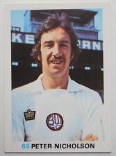 FKS Soccer Stars 1977-1978 NUMBER 69 PETER NICHOLSON