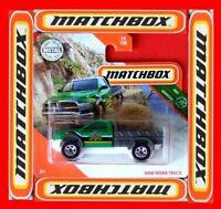 MATCHBOX 2020   RAM WORK TRUCK   77/100       NEU&OVP
