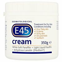 E45 Dermatological Cream for dry skin- 350 g NEW
