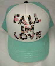 Element Hat By Jac Vanek Floral Fall In Love Trucker Cap Tiffany Green Hip Hop