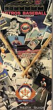 1986 Baseball Media Guide, Houston Astros, Jose Cruz, Nolan Ryan, Mike Scott