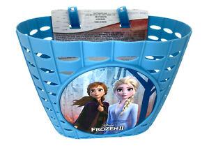 Disney FROZEN II Eiskönigin Fahrradkorb Kinder Korb Anna Elsa himmelblau-lavende