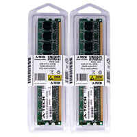 A-Tech 4GB Kit 2x 2GB PC2-4200 DDR2 533MHz Non-ECC DIMM Desktop Memory RAM 4200U