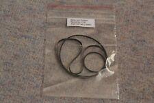 More details for bang and olufsen b&o beocenter 2200 tape deck cassette player rubber belt set.