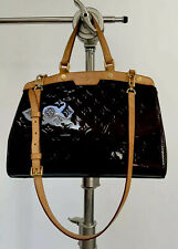 Louis Vuitton Vintage Amarante Monogram Vernis Brea GM Bag Pre Owned