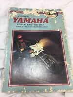 Clymer Yamaha XJ550 Fours 1981-1983 Service Repair Performance Motorcycle 1st Ed