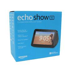 Nuevo Amazon Echo show 5 compacta pantalla altavoz con Alexa Inteligente-Negro Carbón
