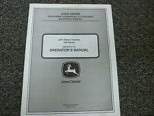John Deere D100 D110 D120 D130 D140 D170 Tractor Owner Operator Manual Omgx24147