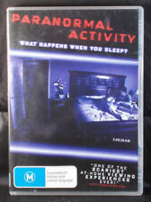 Paranormal Activity - DVD - Region 4 - Ex Rental