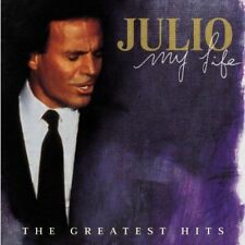 JULIO IGLESIAS MY LIFE The Greatest Hits 2 CD NEW