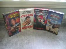 VHS LOT JACKIE CHAN CHUCK NORRIS SHANGHAI KNIGHTS, POLICE STORY, DRUNKEN MASTER,