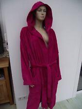 Vossen pinkfarbener Bademantel mit Kapuze Gr. XXL NEU Comfot Line Unisex Sauna