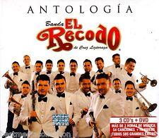 3 CD / 1 DVD COMBO Antologia Banda El Recodo De Chuy Lizarraga BRAND NEW